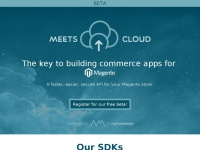 Meets.io - Meets Cloud - The key to building commerce apps for Magento.
