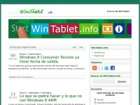 WinTablet.info | Noticias, tutoriales y opinión sobre tablets en Windows 8
