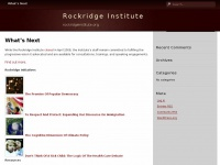 Rockridge Institute – rockridgeinstitute.org