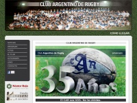 Argentinoderugby.com.ar - Club Argentino de Rugby - Ionosphere - March 2012 Template Demo