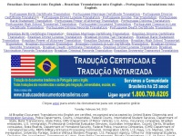 Brazilian Document into English - Brazilian Translations into English -  Portuguese Translations into English