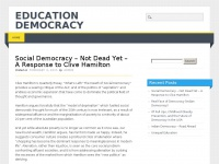 Mouvementdemocrate.info - Education Democracy
