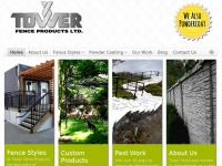 Towerfence.ca - Tower Fence Products - Vancouver Island's Expert Fence Company