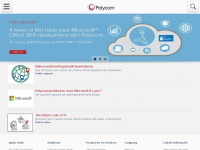 Polycom.nl - Polycom: Video Conferencing, Voice Conferencing, Telepresence