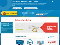 Televisiondigital.gob.es - Televisión digital - Index