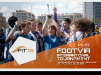 footviainternationaltournament.com
