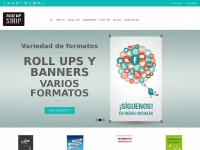 Rollupshop.es - Roll up | Roll ups, banners y displays baratos para empresas