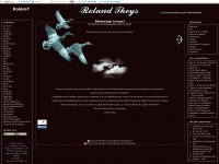 Rolandtheys.net - Welcome,  See the new section or sections and images. - Roléro -T