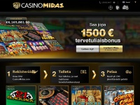casinomidassuomi.com