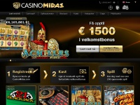 casinomidasnorge.com