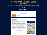 Wordswithfriends.us - Words With Friends Word Search — Find the best scoring words for the game Words With Friends