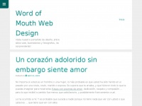 wordofmouthwebdesign.com