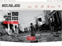 Apjnow.org - Home - Artists for Peace and Justice