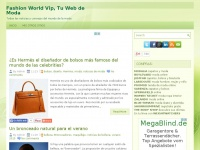 Fashion World Vip, Tu Web de Moda