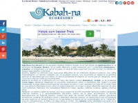 Kabahna.net - Eco Resort Costa Maya, Mexico - Kabah-na Eco Resort: cabañas y bungalows en Mahahual, Costa Maya (Mexico)