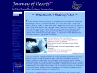 Journeyofhearts.org - Journey of Hearts: A Healing Place for those Dealing with Grief