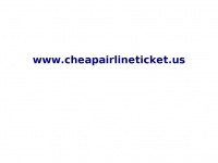 cheapairlineticket.us