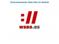 Wseo.es - wSeo Posicionamiento Web SEO en Madrid - Marketing Online