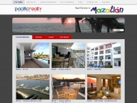 Real Estate in Mazatlan, Mexico | Buy | Sale | Rent | House | Condominium / Apartment | Land | PACIFIC REALTY Website |