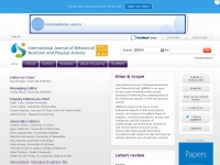 Ijbnpa.org - International Journal of Behavioral Nutrition and Physical Activity