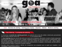 Goacatering.es - Goa | Catering Madrid | Catering Empresas