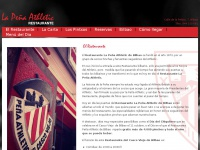 Restauranteathletic.es - Restaurante La Peña Athletic en el Casco Viejo de Bilbao