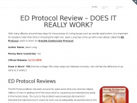 Edprotocolreview.co - ED Protocol Review - Odd Trick Destroys Erectile Dysfunction