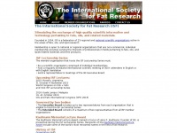 Isfnet.org - The International Society for Fat Research