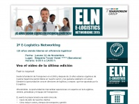E-logistics-networking.es - TRANSPOREON | E-LOGISTICS NETWORKING Espagne: e-logistics networking Spain