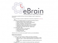 Ebrain.nl - eBrain ~ Innovative Internet Ideas