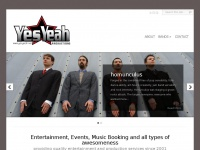 Yesyeah.net - YesYeah Productions | band booking, production, and other awesomeness