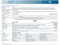 Wtoelibrary.org - e-unwto Home - Main