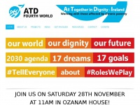 Atdireland.ie - All Together in Dignity - ATD Fourth World Ireland | Working in partnership with those affected by chronic poverty.