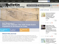 Archaeologybulletin.org - Bulletin of the History of Archaeology