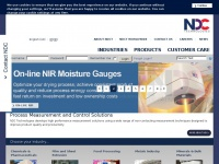 NDC Technologies, Moisture, Thickness, Process Measurement, Analysis and Control
