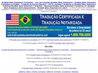 brazilianbankstatementtranslation.com
