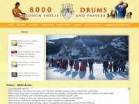 8000drumsoftheprophecy.org - 8000 drums, conch shells and prayer to initiate a new age of consciousness