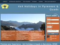 4x4-holidays-pyrenees.co.uk - 4x4 Holidays in Pyrenees & Barcelona Quads (SPAIN)