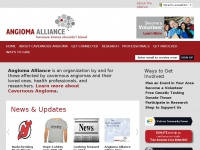Angiomaalliance.org - Angioma Alliance Cavernous Angioma Cavernous Malformation Cavernoma vascular hemangioma health organization cavernous angioma malformations venous brainstem cerebral support
