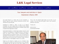 Lklegalservices.co.uk - Spanish Solicitors and Lawyers in Spain | L&K Legal Services