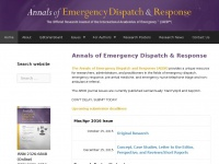 Aedrjournal.org - AEDR Journal – The Official Research Journal of the International Academies of Emergency