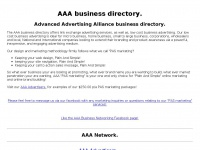 Aaa.com.au - AAA business directory, building our future business network!