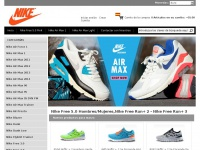 Nikeairmaxzapatos.com.es - Comprar Nike Air Max/Nike Free Run Zapatos - Nike Air Max Outlet