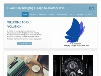 Evolutioneurope.org - E-volution: bringing Europe to another level - Home