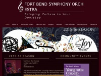 Fbso.org - Fort Bend Symphony Orchestra