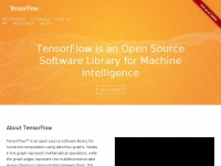 Tensorflow.org - TensorFlow - an Open Source Software Library for Machine Intelligence
