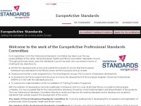 Ehfa-standards.eu - Welcome to the work of the EuropeActive Professional Standards Committee | EuropeActive Standards
