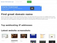 Find great domain name | Server-information.xyz