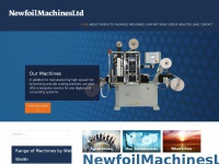 Newfoilmachines.co.uk - Hot Foil Stamping Machines | Embossing Machines | Converting Machines | Label finishing