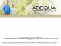 "Abequahomehealthcare.com - Abequa Home Health Care Agency, LLC - ""quality homecare delivery"""